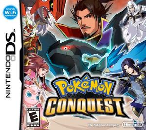 Pokemon Conquest - DS Game