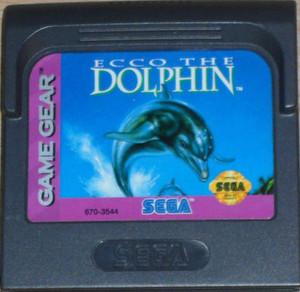Ecco The Dolphin - Game Gear