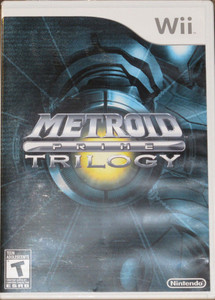 Metroid Prime Trilogy - Wii Game