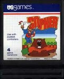 Gopher - Atari 2600 Game