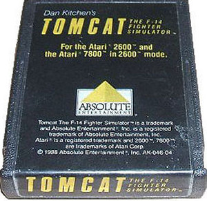 Tom Cat - Atari 2600 Game