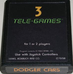 Dodger Cars - Atari 2600 Game