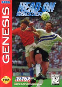 Head-On Soccer - Genesis Game