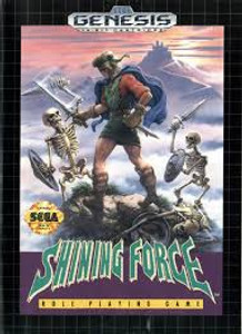 Shining Force - Genesis Game