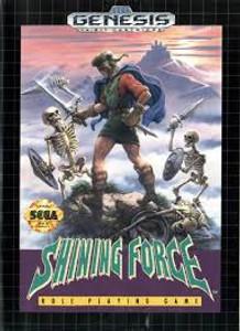 Shining Force - Genesis Game