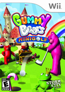Gummy Bears Mini Golf - Wii Game