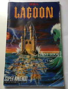 Lagoon Hint Book Seika - SNES Book