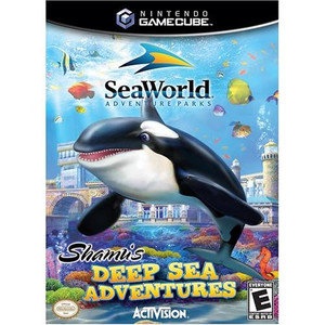 Shamu's Deep Sea Adv. - GameCube Game