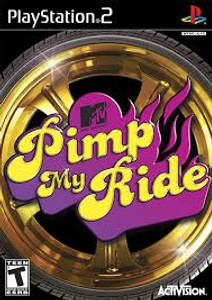 Pimp My Ride - PS2 Game