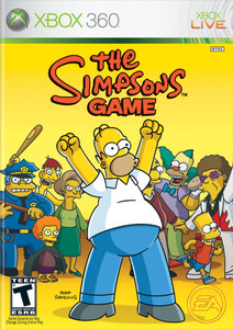 Simpsons Game, The - Xbox 360 Game