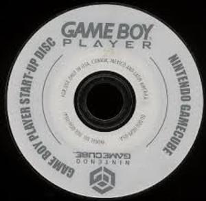 Game Boy Player Start-Up Disc- GameCube
