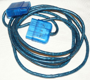 Controller Extension Cable Blue - PS1, PS2