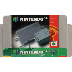 RF Switch - Empty N64 Box