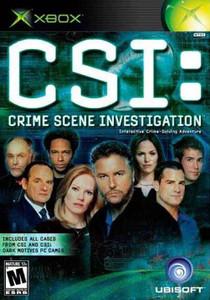 CSI Crime Scene Investigation - Xbox GameCSI Crime Scene Investigation - Xbox Game