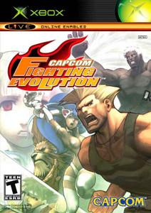 Capcom Fighting Evolution - Xbox GameCapcom Fighting Evolution - Xbox Game