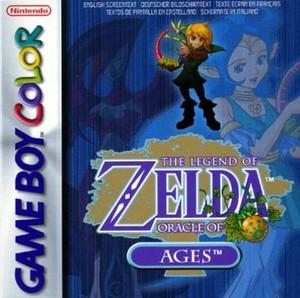 Complete Legend of Zelda Oracle of Ages - Game Boy Color