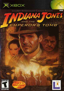 Indiana Jones Emperor's Tomb - Xbox GameIndiana Jones Emperor's Tomb - Xbox Game