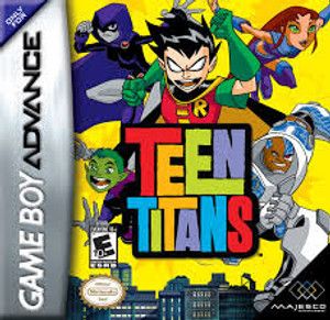 Complete Teen Titans - Game Boy Advance
