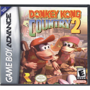 Donkey Kong Country 2 Complete Game For Nintendo GBA