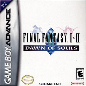 Complete Final Fantasy I&II Dawn Of Souls - Game Boy Advance