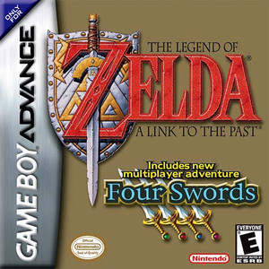 Complete Legend of Zelda Four Swords - Game Boy Advance