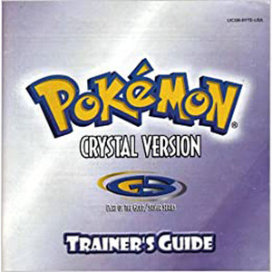 Pokemon Crystal Manual For Nintendo GameBoy Color