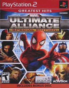Marvel Ultimate Alliance Special Edition - PS2 GameMarvel Ultimate Alliance Special Edition - PS2 Game