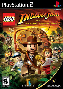 Lego Indiana Jones Original Adventure - PS2 GameLego Indiana Jones Original Adventure - PS2 Game