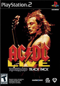 AC/DC Live Rockband Track Pack - PS2 Game
