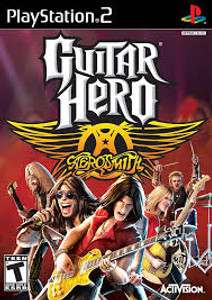 Guitar Hero Aerosmith - PS2 Game