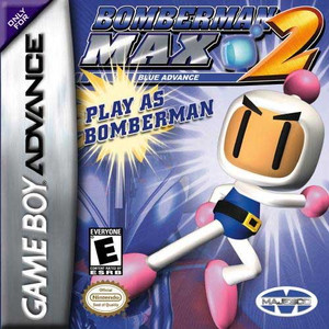 Bomberman Max 2 Blue Advance - GBA GameBomberman Max Blue Advance - Game Boy Advance
