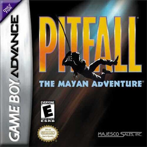 Pitfall Mayan Adventure - GBA GamePitfall Mayan Adventure - Game Boy Advance