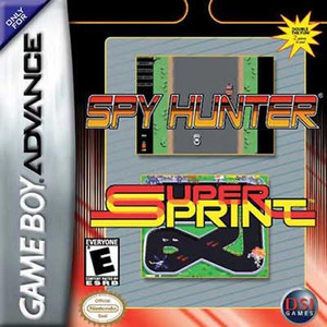 Spy Hunter / Super Sprint - GBA GameSpy Hunter / Super Sprint - Game Boy Advance