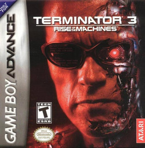 Terminator 3 Rise of the Machines - GBATerminator 3 Rise of the Machines - Game Boy Advance