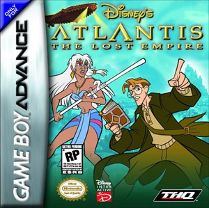 Atlantis - GBA GameAtlantis - Game Boy Advance