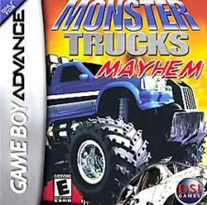 Monster Trucks Mayhem - GBA GameMonster Trucks Mayhem - Game Boy Advance