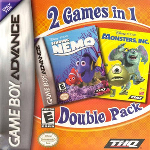 Monsters Inc Finding Nemo - GBA GameMonsters, Inc / Finding Nemo - Game Boy Advance