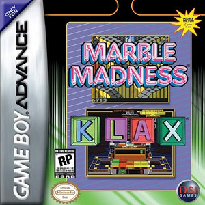 Marble Madness / Klax - GBA GameMarble Madness / Klax - Game Boy Advance
