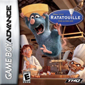 Ratatouille - GBA GameRatatouille - Game Boy Advance