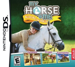 My Horse & Me Riding for Gold - DS GameMy Horse & Me Riding for Gold - DS Game