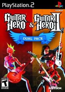 Guitar Hero & Guitar Hero II - PS2 Game