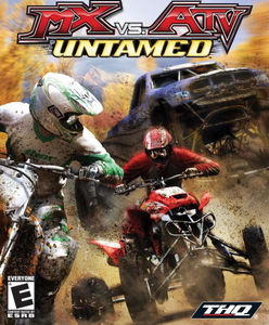 MX Vs. ATV Untamed - PS2 Game