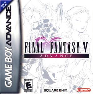 Complete Final Fantasy V Advance - Game Boy Advance