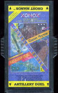 Ghost Manor / Artillery Duel - Atari 2600 Game Double Ender