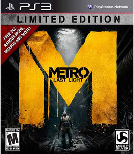 Metro Last Light Limited Edition - PS3 GameMetro Last Light Limited Edition - PS3 Game
