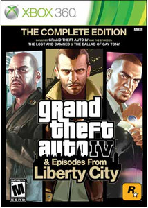 Grand Theft Auto IV Complete Edition - 360 GameGrand Theft Auto IV Complete Edition - Xbox 360 Game