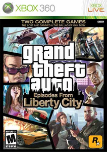 Grand Theft Auto Episodes From Liberty City - Xbox 360 GameGrand Theft Auto Episodes From Liberty City - Xbox 360 Game