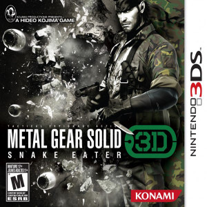 Metal Gear Solid Snake Eater 3D - 3DS Game