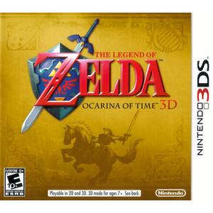 Zelda Ocarina of Time 3D - 3DS Game