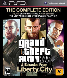 Grand Theft Auto IV Complete Edition - PS3 Game